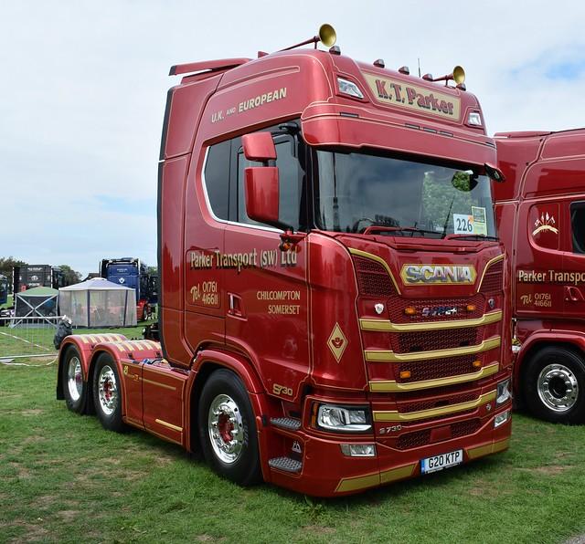 Parker Transport (SW) Ltd Scania S730 G20 KTP