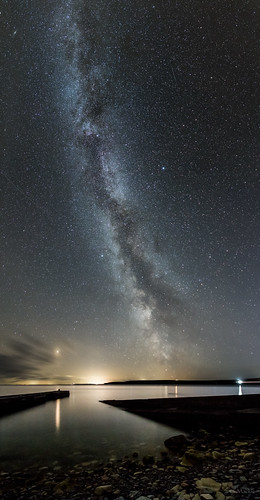 milkyway skirza harbour caithness scotland darkskies skywatcherstaradventurer staradventurer panorama