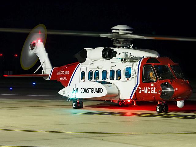 HM Coastguard | Sikorsky S-92A | G-MCGL