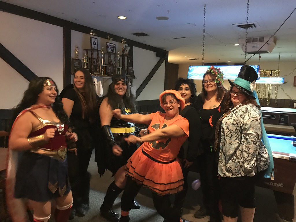 Iafc Halloween party 2018  Super heroes and villains  We h