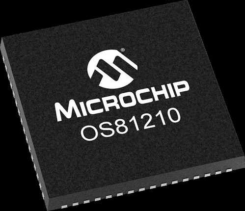 OS81210-VQFN-64 | by Microchip Technology
