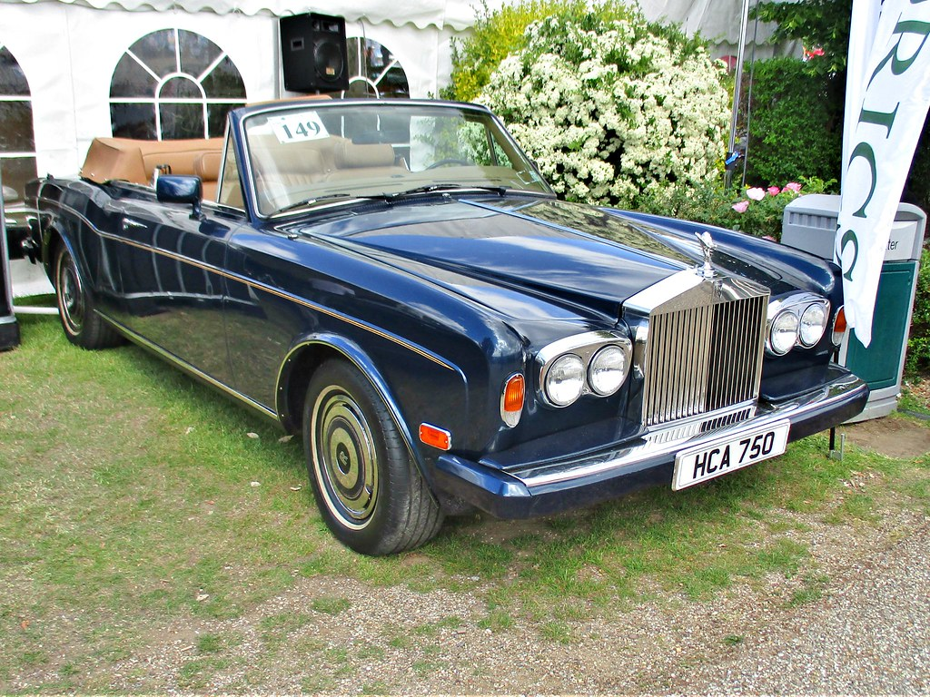 1971 Luxury Collectors Club Card Rolls-Royce Corniche