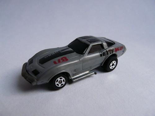 Kidco® Burnin' Key Cars®  №11500-4 → CHEVROLET CORVETTE 1978 1/64   1980