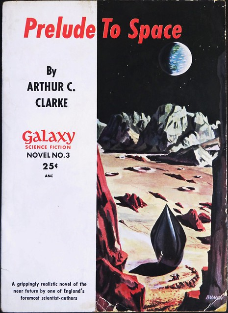 Galaxy Science Fiction Novel No. 3. Paperback Original (1951). First edition. Cover Art by Bunch. Digest size.