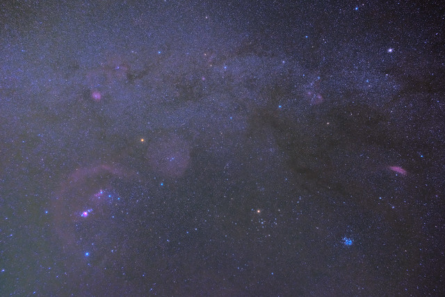 Orion, Taurus, Auriga 18mm