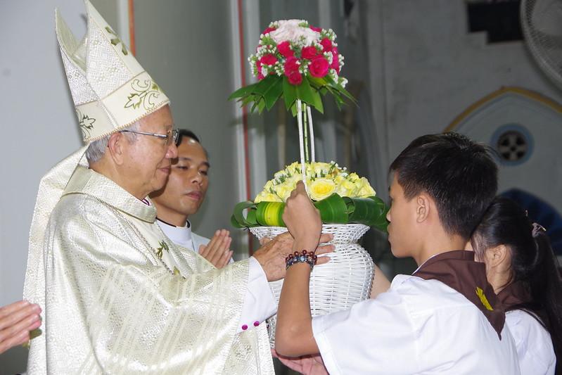 Lễ ra mắt TNTT xứ  đoàn Đa Minh Tân Phong, QB (16)