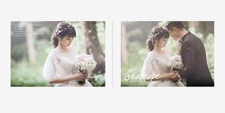 柔美的微笑征服浪漫的婚紗影像 jieli婕莉禮服   by Cheyu Image