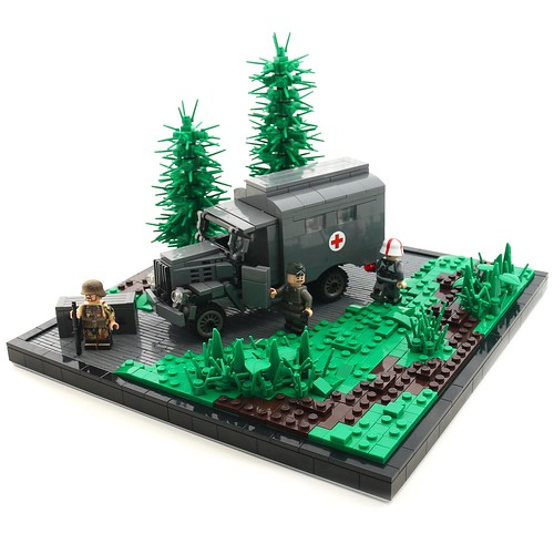 On the Frontlines | WW2 MOC
