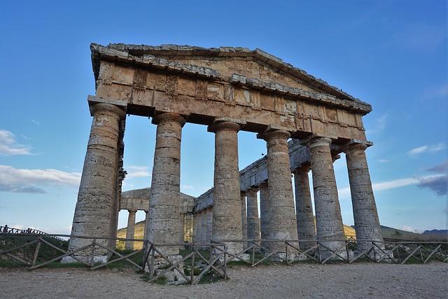 Templo de Segesta - Sicilia - Italia.