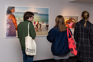 "Exhibition opening ""Life´s a beach"" by Magnum photographer Martin Parr. 