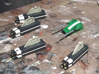 "1:100 Stonewell/Bellcom VF-1J (Block 5 with MLU update) ""Valkyrie""; aircraft ""ET 240"" of the U.N. Spacy SVF-201 ""Flying Shamrocks""; Magadan Air Base, late 2017 (modified ARII kit) - WiP 