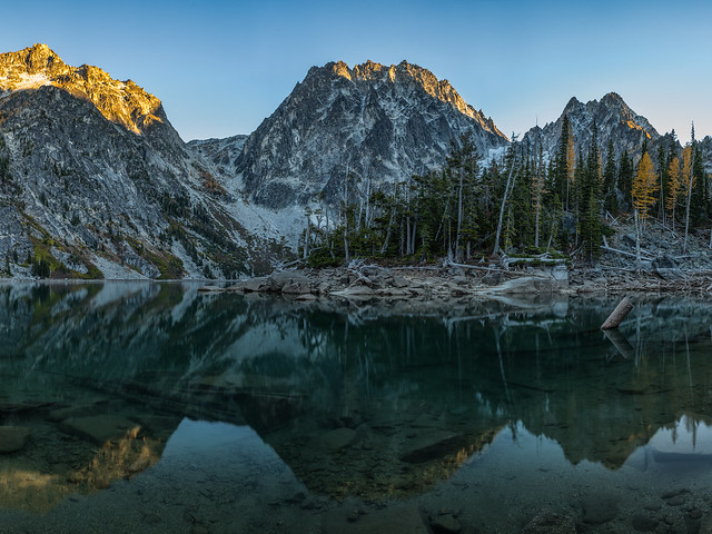 Lake Colchuck Sunset