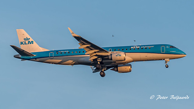 PH-EXD  Embraer ERJ-190 - KLM Cityhopper