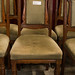 Carved dining chairs E40