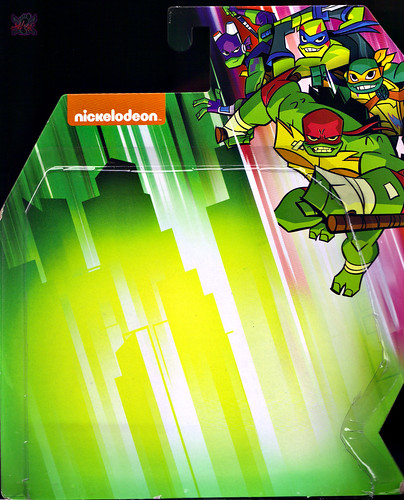 Nickelodeon  RISE of The TEENAGE MUTANT NINJA TURTLES :: MEAT SWEATS ..card backer i (( 2018 )) [[ Standard U.S. release ]] by tOkKa