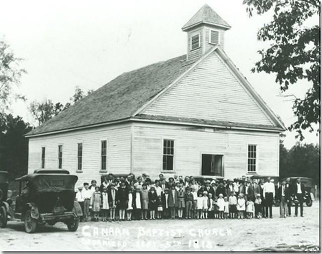 Canaan Baptist Church - September 5th 1918