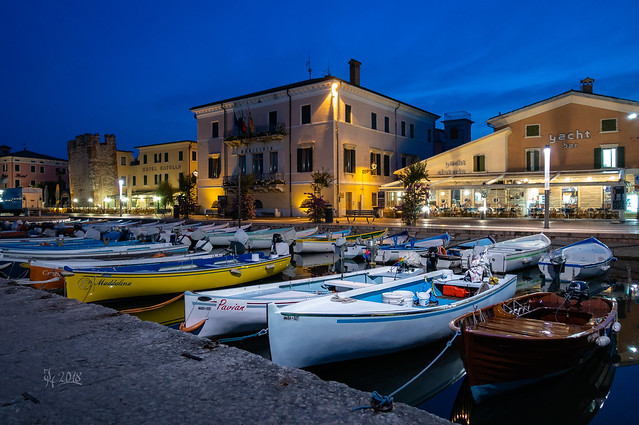 2018 Bardolino port at night (explore Nr. 380)