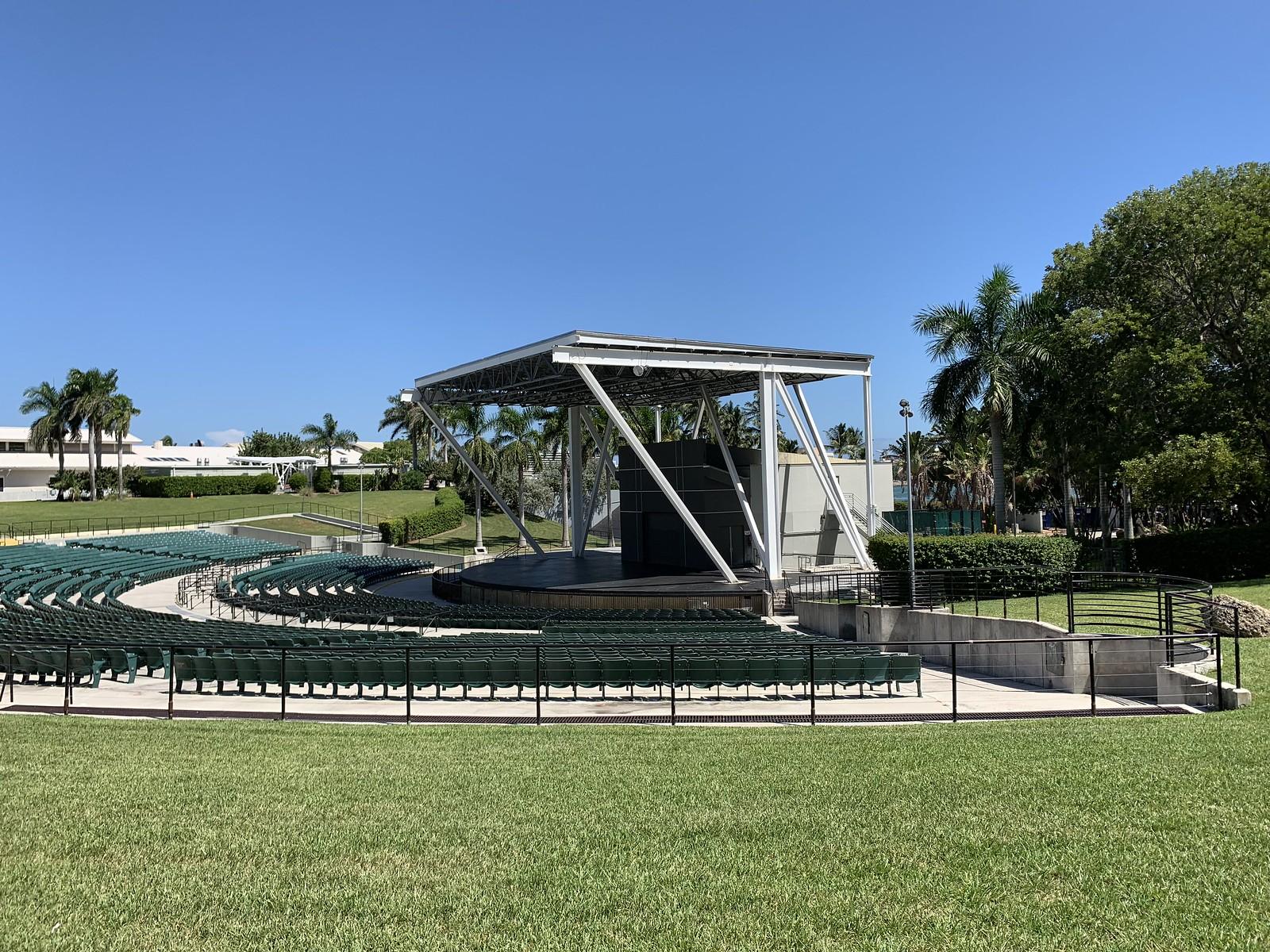 Amphitheater Bayfront Park Downtown Miami