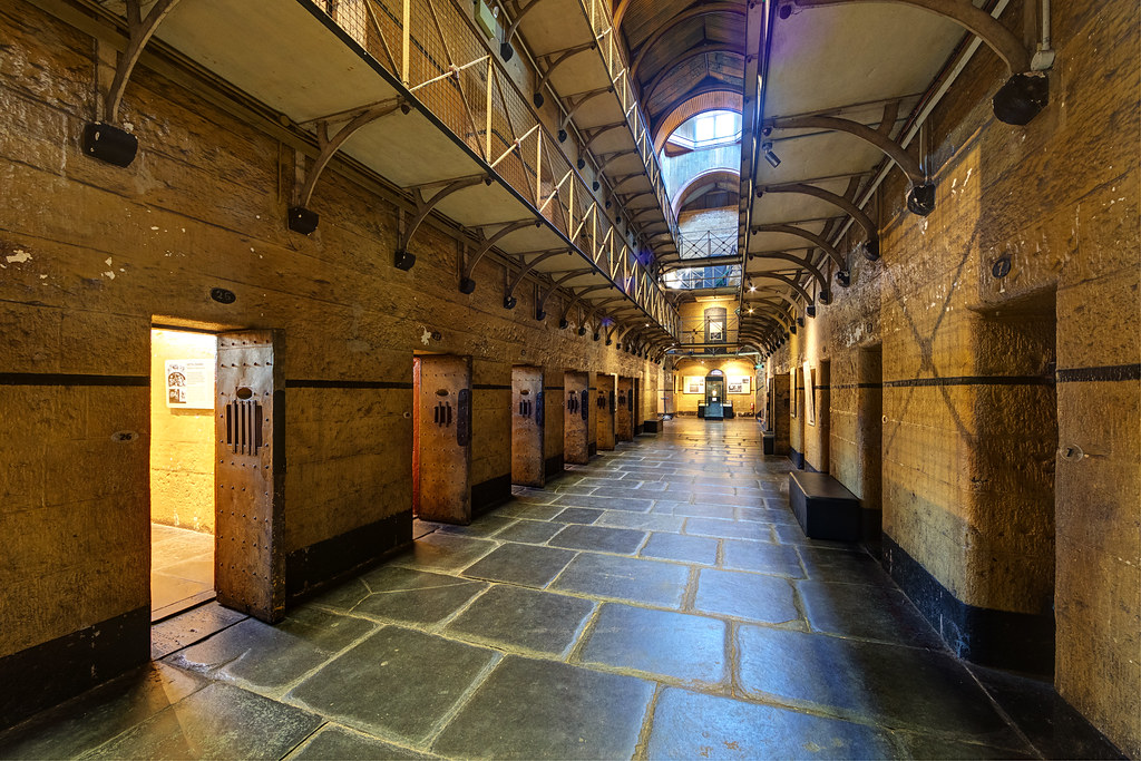 Image: Ground Floor of the Old Melbourne Gaol