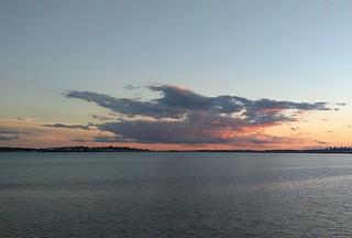 Looking south (from Lynn) towards Nahant and the Boston skyline. | by bob_eisenman
