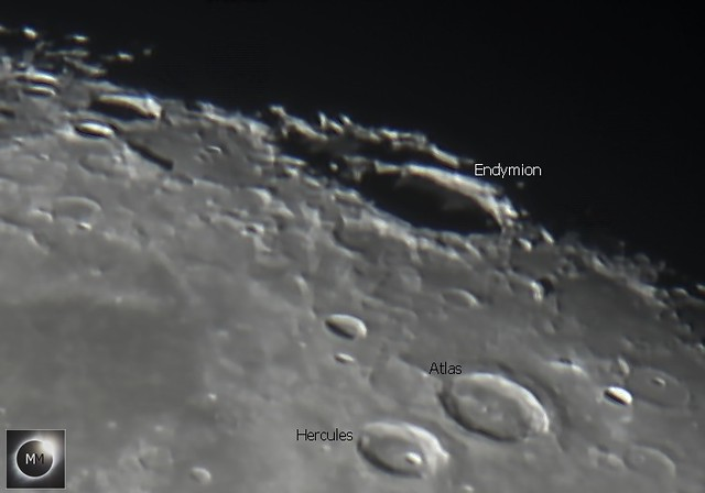 Lunar Crater Endymion 26/10/18