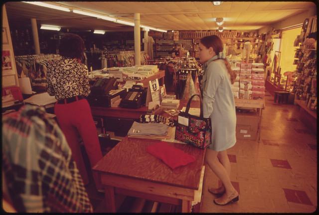 1973 Shop Girl