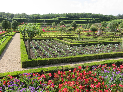 Castle of Villandry. Vegetable garden. | by Traveling with Simone