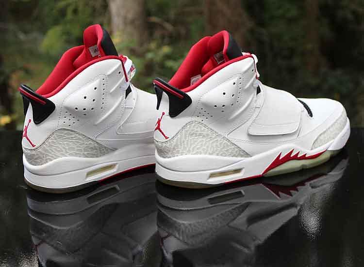 sports shoes d6963 89e96 ... Nike Air Jordan Son of Mars Fire Red White Black 512245-112 Men s Size  10