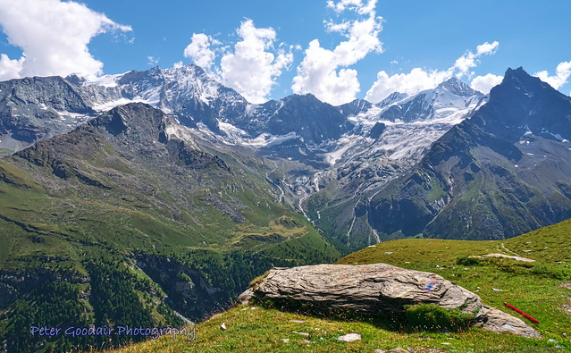 Weisshorn and Neighbouring Peaks