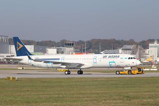 A321neo Air Astana P4-KDF | by XFW-Spotter