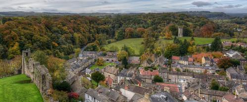 landscape autumn colour trees view