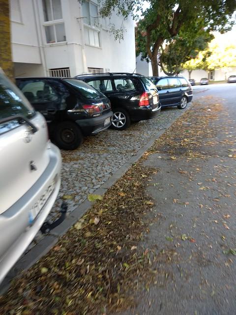 Caminho pedonal para a escola (Évora)