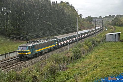 2703 SNCB . E13402 . Baelen 22.10.18.