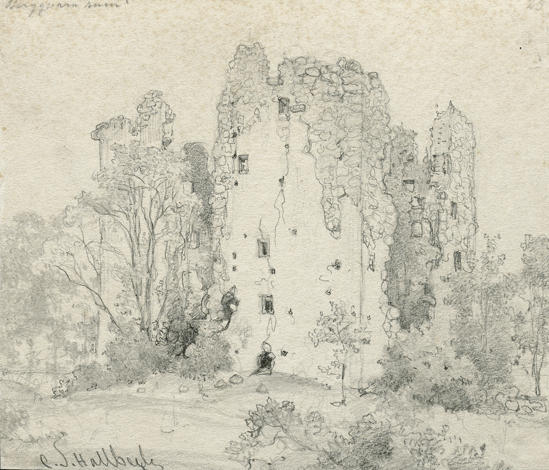 Bergkvara Castle Ruin, Småland, Sweden