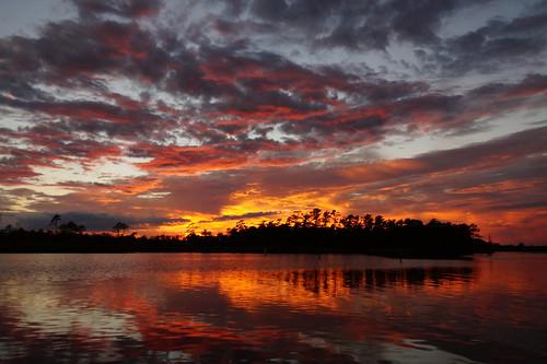 fairfieldharbour nc sunset spectacularsunsetsandsunrises cloudsstormssunsetssunrises cloudscape clouds northcarolina northwestcreek sony sonya58 sonyphotographing