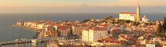 End of afternoon in Piran