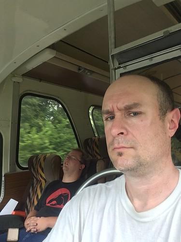 buffalo bus selfie