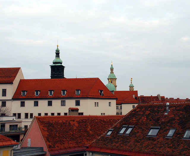 The roofs of Graz (2)