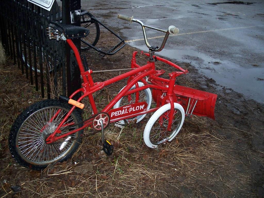 bike snow plow   julian meade   Flickr