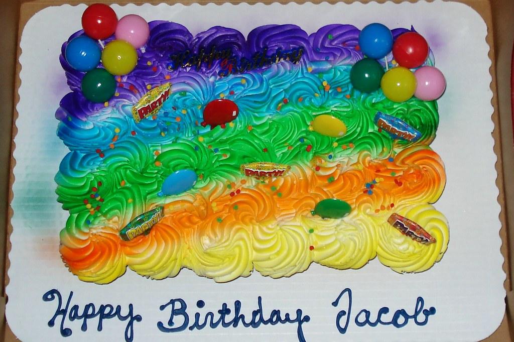 Amazing Happy Birthday Jacob Cupcake Cakes From Super Walmart Oh Flickr Funny Birthday Cards Online Alyptdamsfinfo