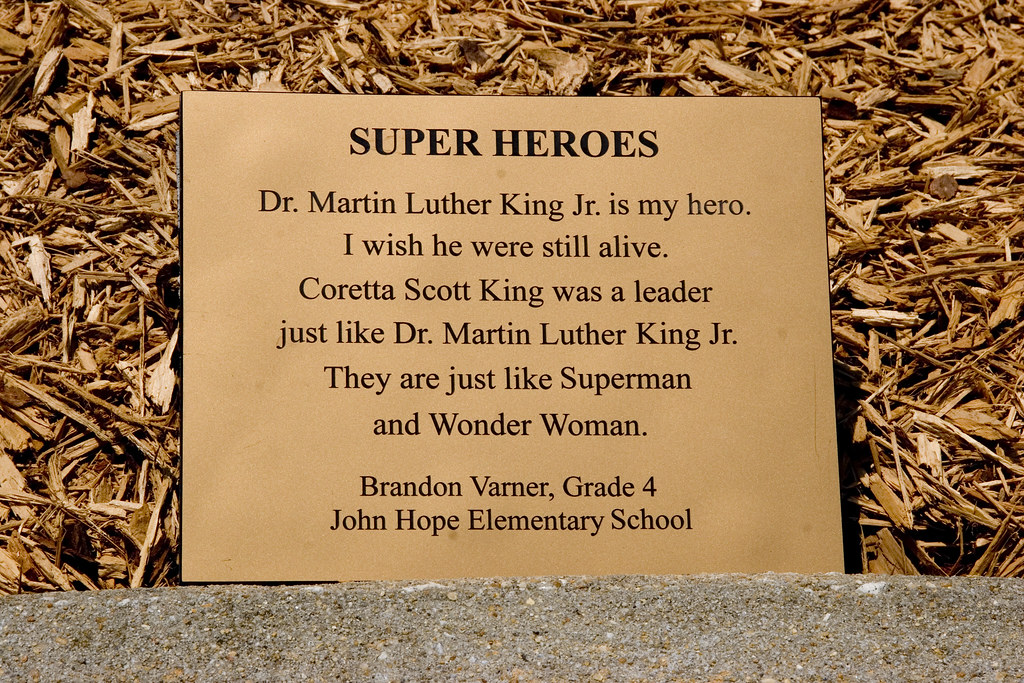Super Heroes A Plaque At The World Peace Rose Garden At Th Flickr