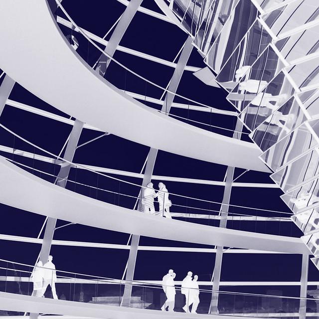 Reichstag inverted