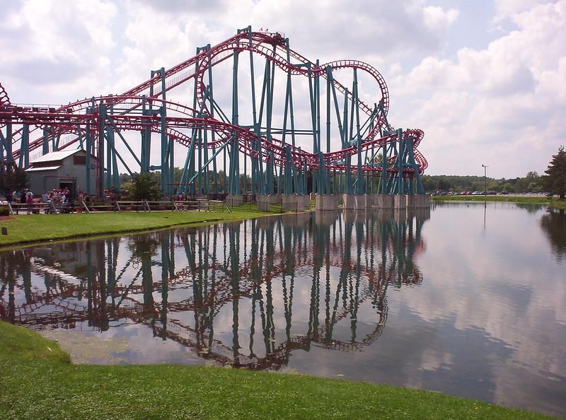 Mind Eraser rollercoaster