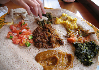 Our Ethiopian Dish | by LollyKnit