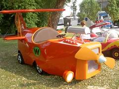 Wacky Races - The Crimson Haybailer   by big-ashb