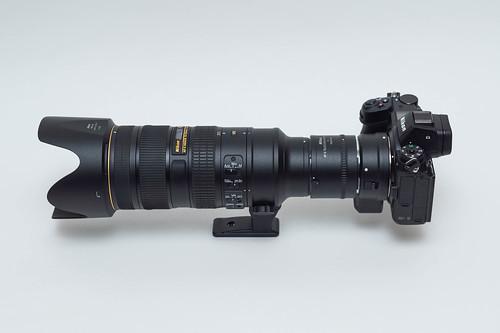 Nikon Z7 + FTZ + TC-20E III + AF-S NIKKOR 70-200mm f/2.8G ED VR II | by ColdSleeper