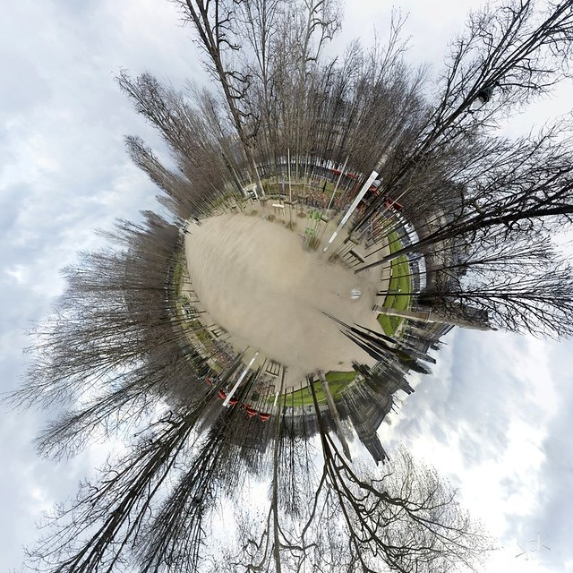 Little Planet: Luxembourg Gardens, Paris, France