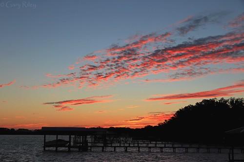sunrise florida colors electric boatramp