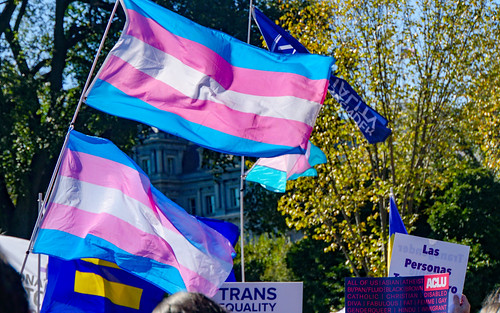 2018.10.22 We Won't Be Erased - Rally for Trans Rights, Washington, DC USA 06828 | by tedeytan