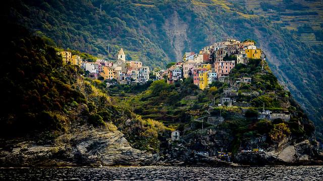 Entre mar y montes, Corniglia, Cinque Terre